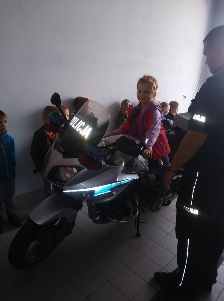 Zwiedzanie Komendy Powiatowej Policji