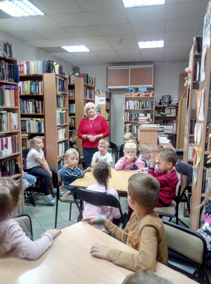 Wycieczka do Biblioteki Gminnej
