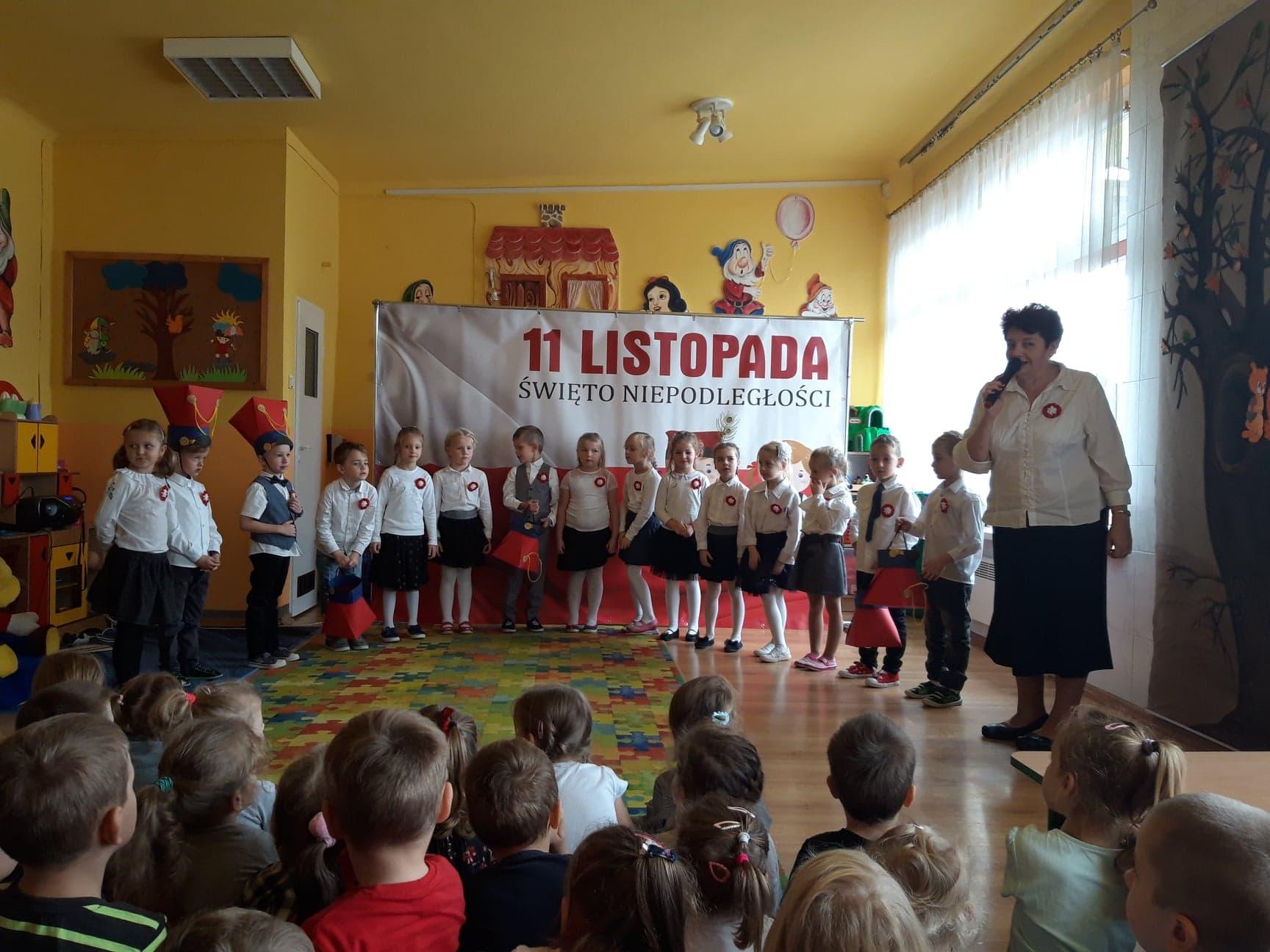 Narodowe Święto Niepodległości w Przedszkolu Samorządowym