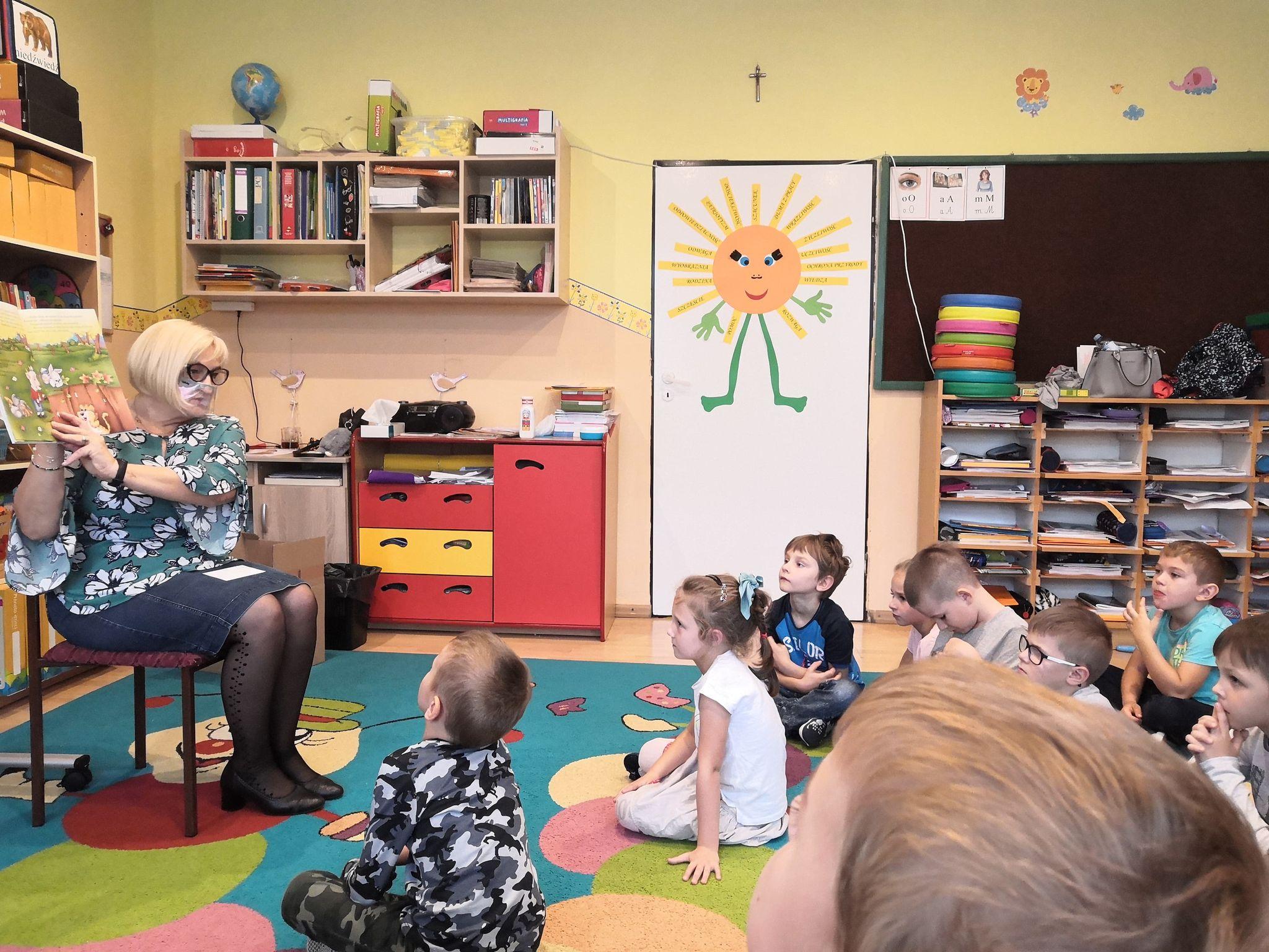 Cała Polska Czyta Dzieciom – wizyta pani Teresy