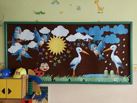 Prace przedszkolaków/dekoracje